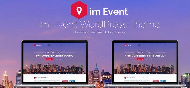 descargar plantillas wordpress para eventos y conferencias