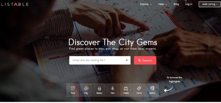 plantillas para crear web directorio