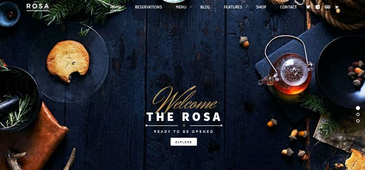 temas wordpress restaurantes