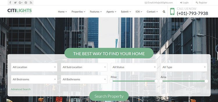 themes wordpress real estate