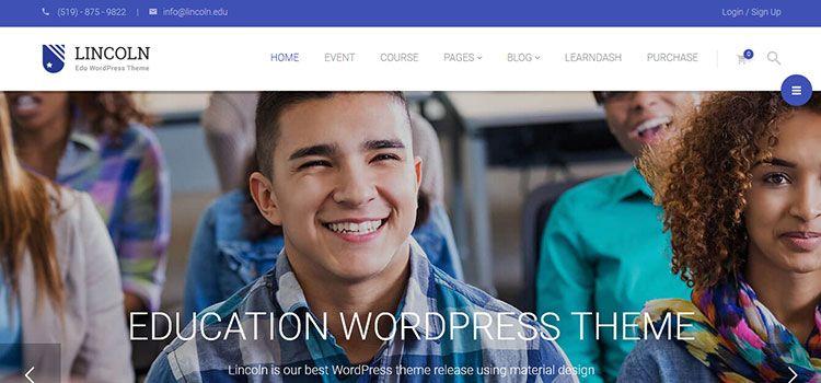 mejor tema wordpress eduacacion