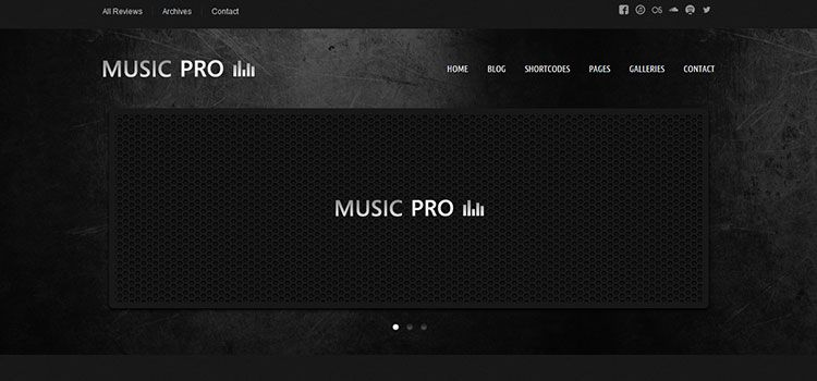 temas wordpress music