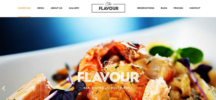 plantillas restaurantes wordpress responsive