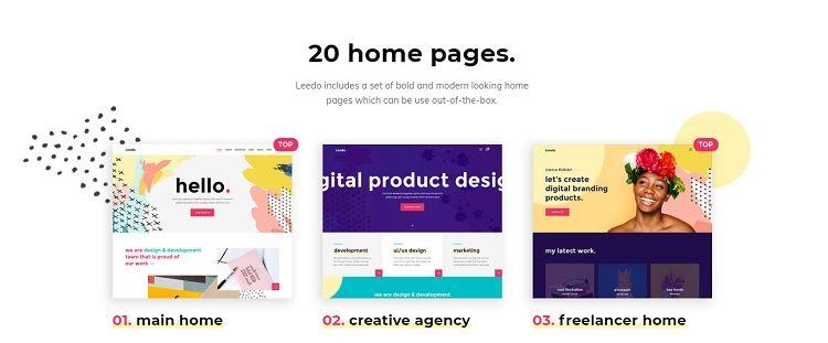 crear web portfolio temas wordpress