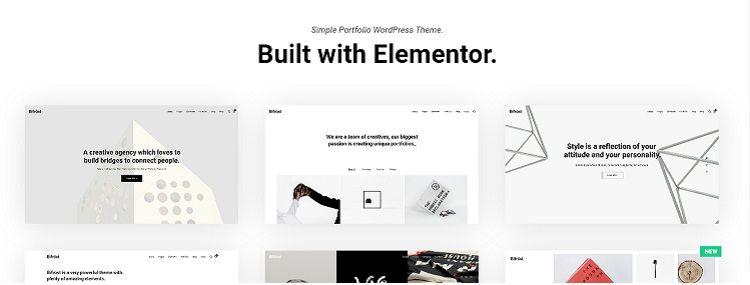 crear web portfolio