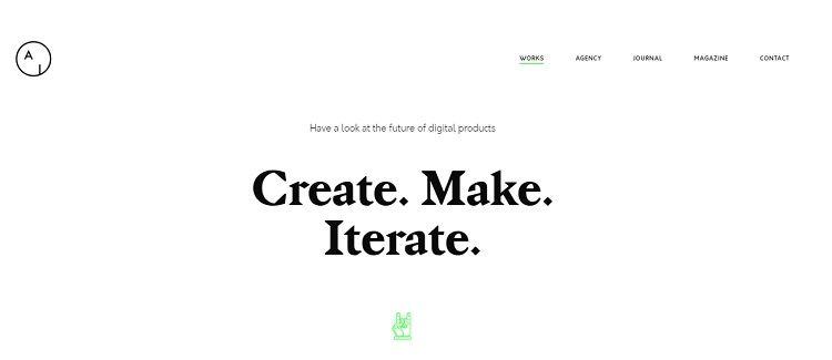 pagina web portfolio wordpress
