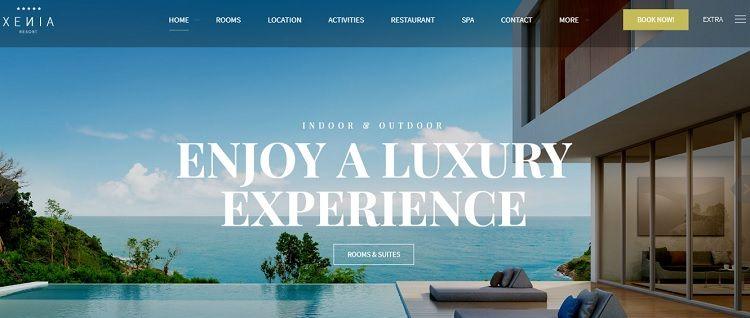 descargar temas wordpress hoteles apartamentos responsive