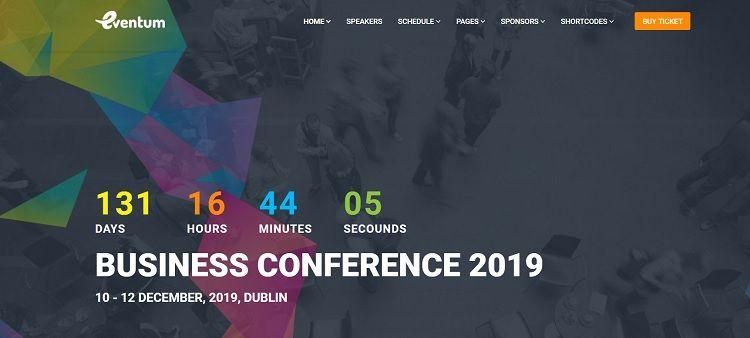 plantillas wordpress conferencias