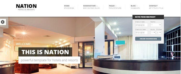 mejor plantilla wordpress para hoteles y apartamentos