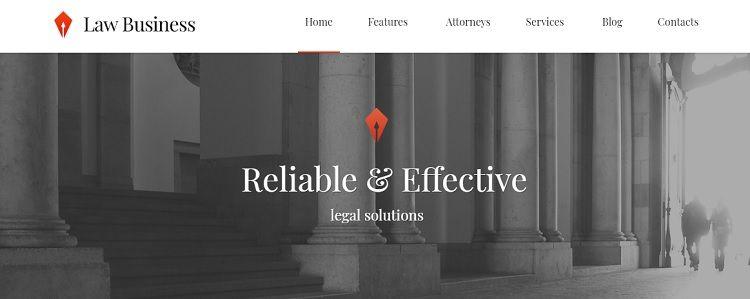 mejor plantilla wordpress abogados