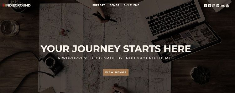 descargar tema wordpress blog viajes