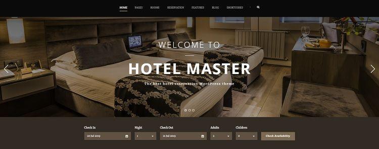 descargar temas wordpress hoteles