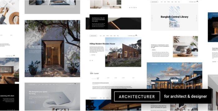 mejor plantilla wordpress arquitectura