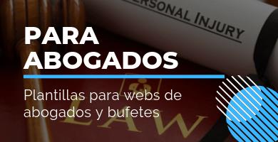 plantillas wordpress abogados