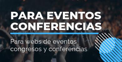 plantillas wordpress eventos conferencias