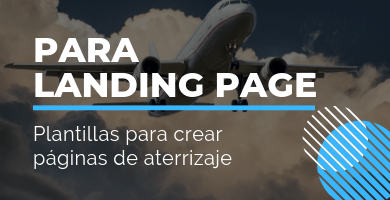 plantillas landing page wordpress
