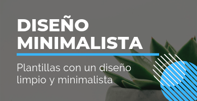 plantillas wordpress minimalistas