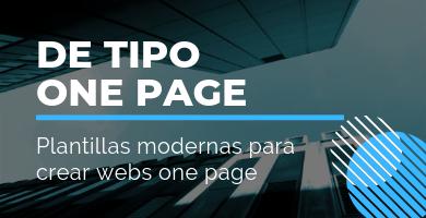 temas wordpress one page